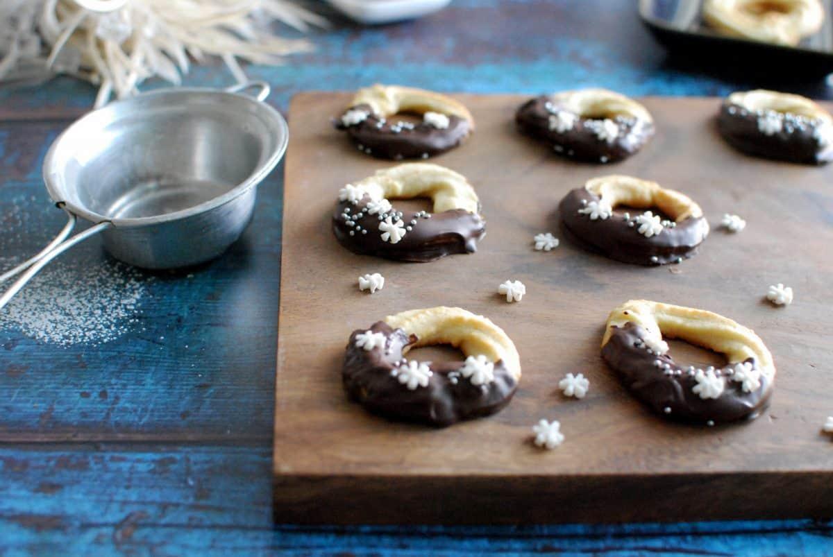 danish cookies, δανέζικα χριστουγεννιάτικα μπισκότα βουτύρου βανίλιας