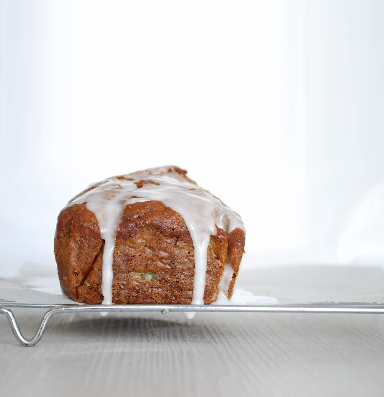 κέικ με κολοκυθάκια zucchini bread