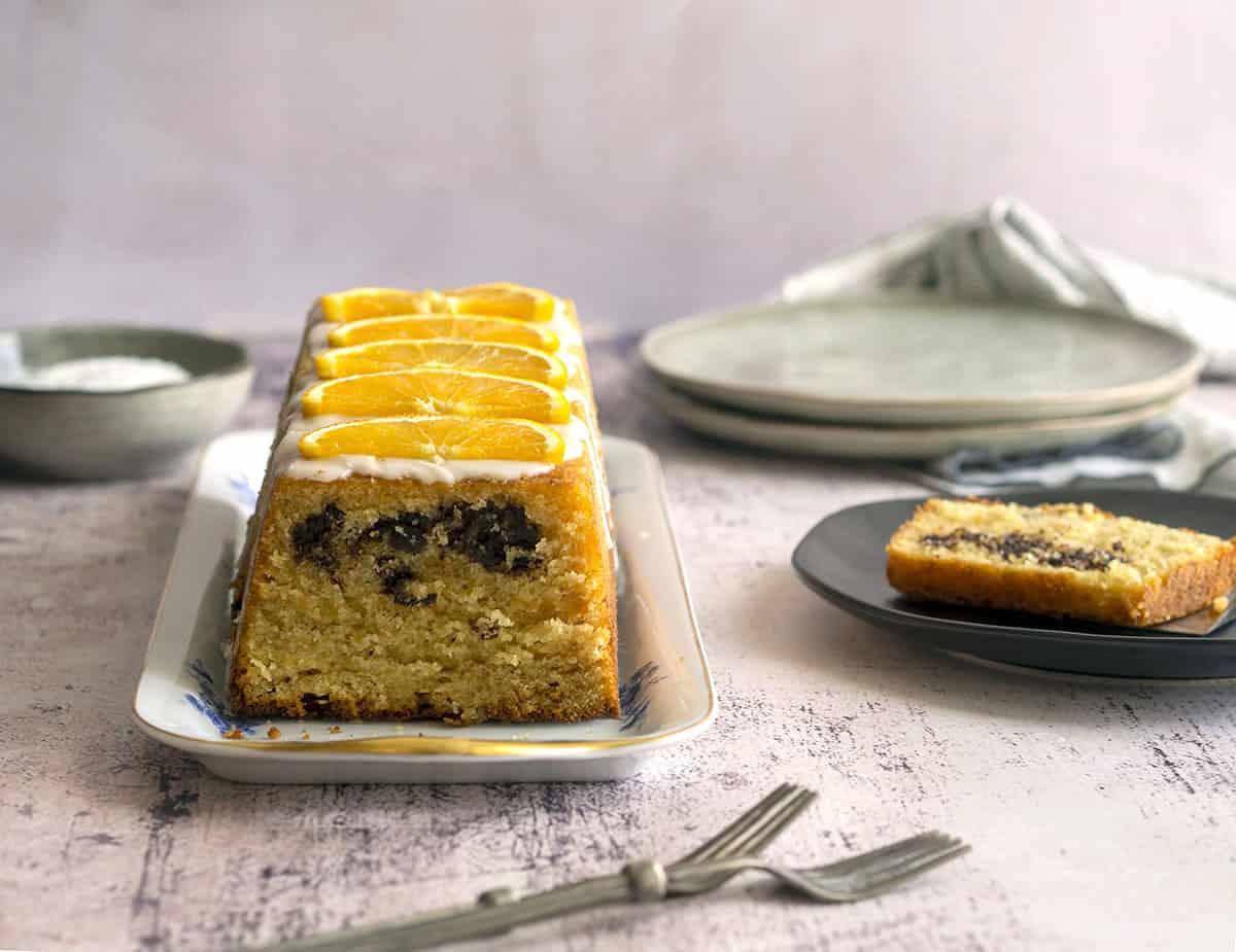 κέικ με καρύδα πορτοκάλι και σοκολάτα