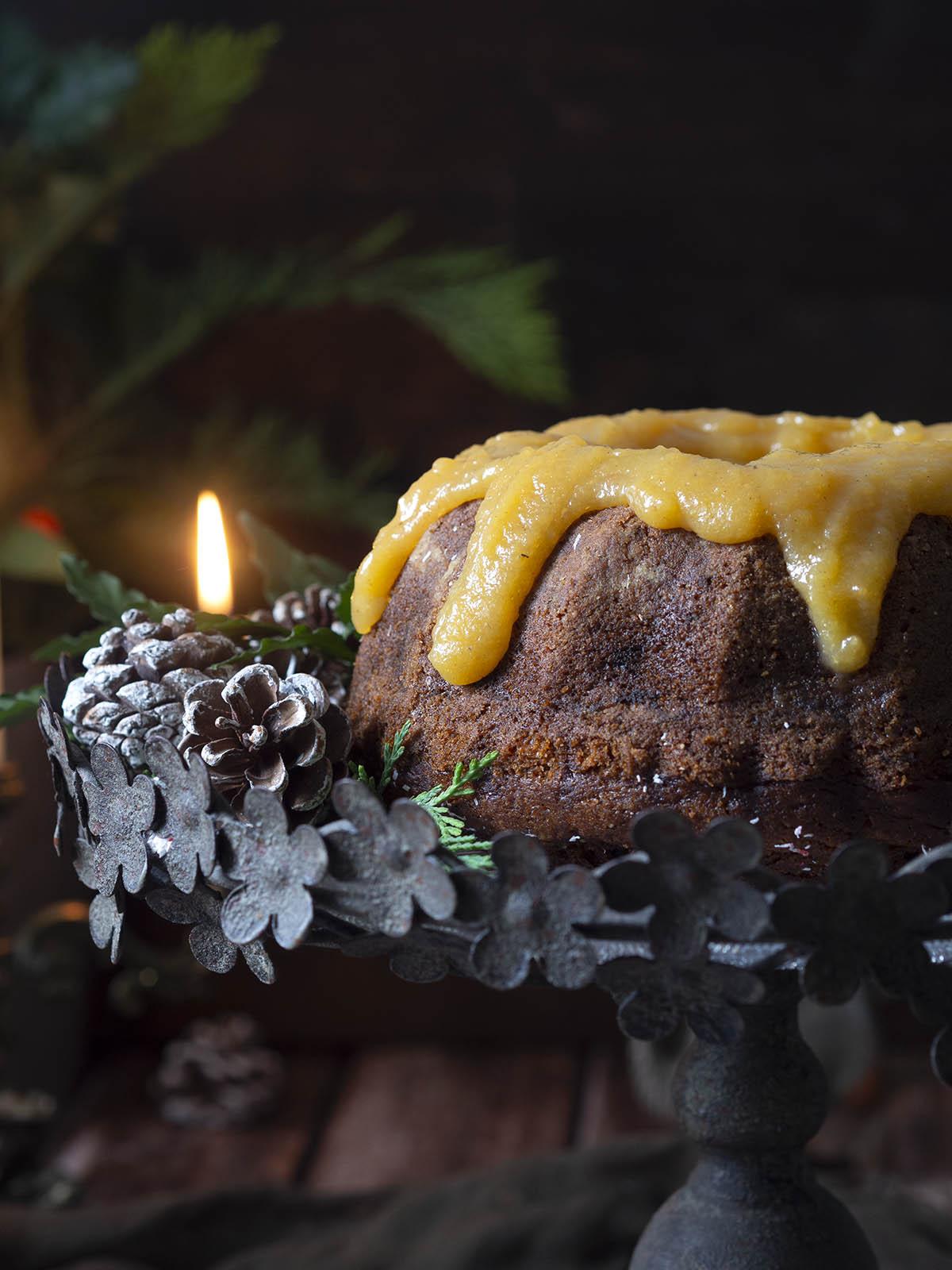 κέικ με λωτό & μπαχαρικά
