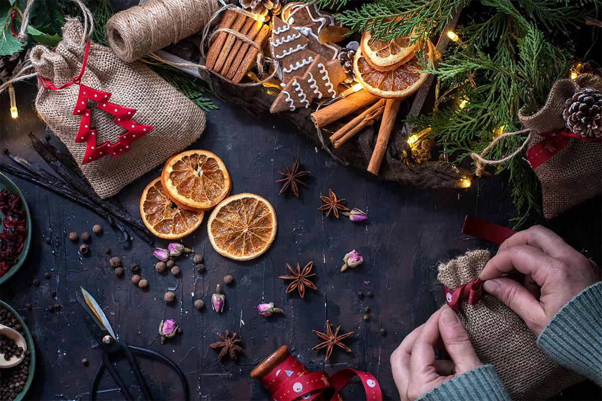 χειροποίητα χριστουγεννιάτικα δώρα ποτ πουρί