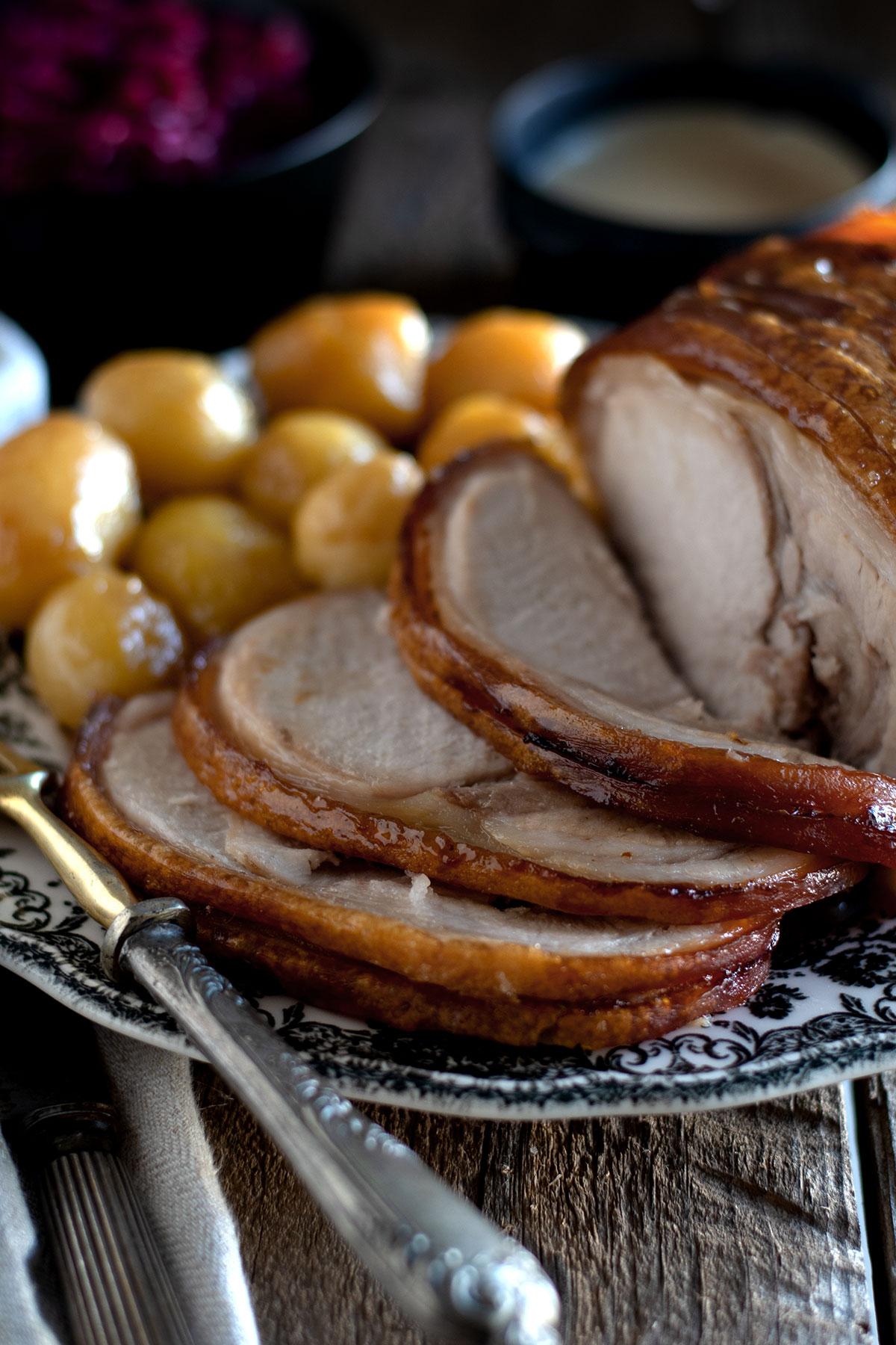 χριστουγεννιάτικο δανέζικο χοιρινό