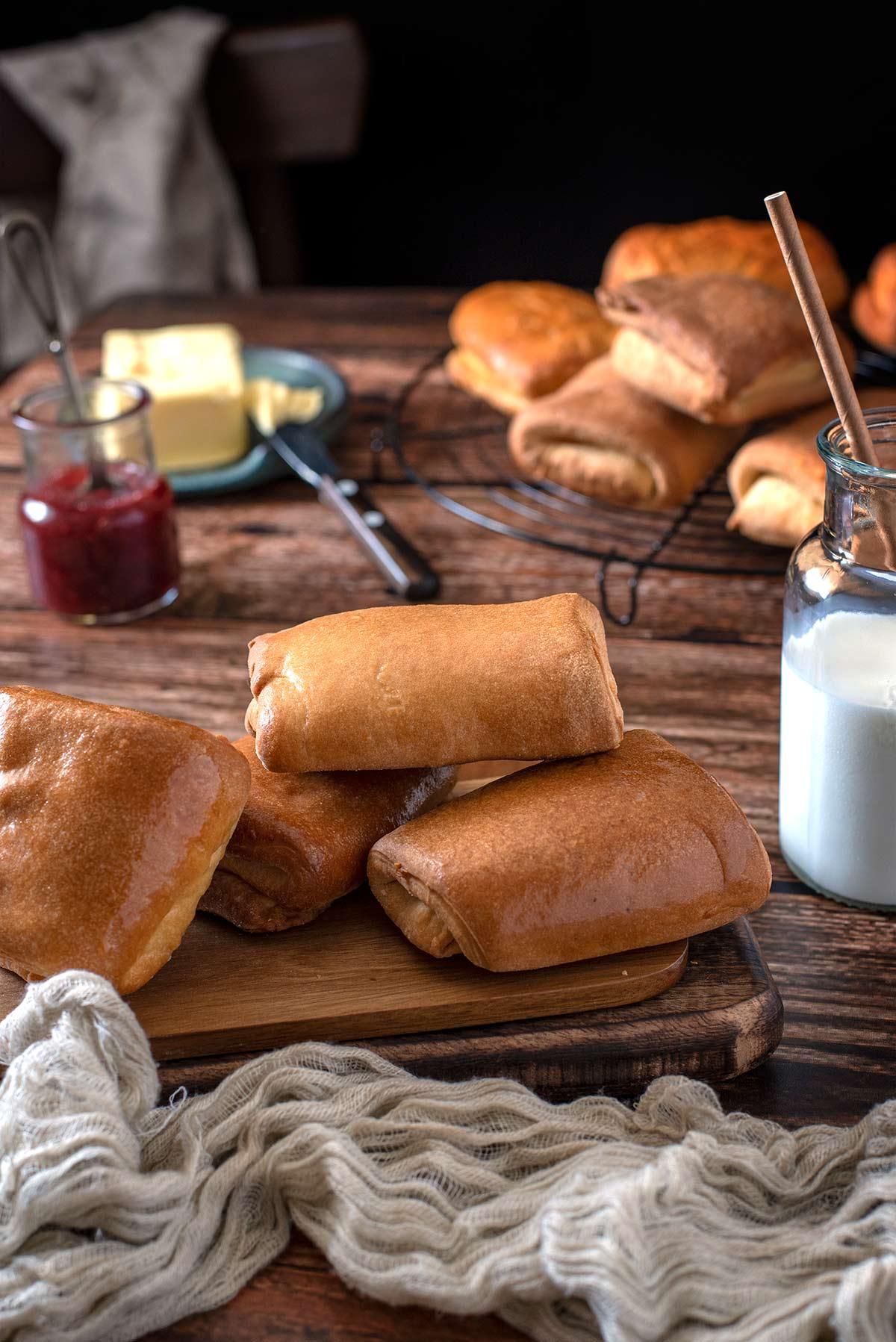 αφράτα μίνι ψωμάκια, για σάντουιτς