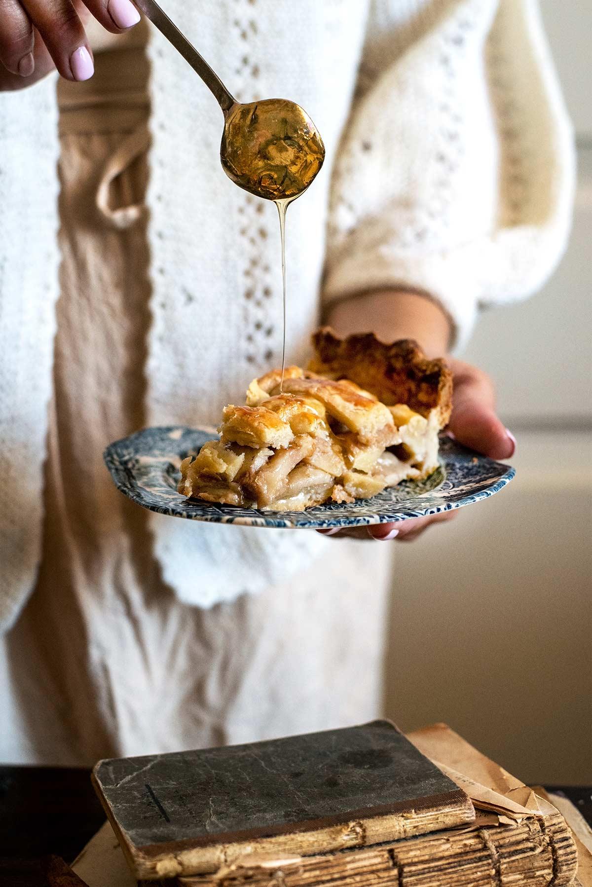 αχλαδόπιτα, τάρτα με αχλάδια